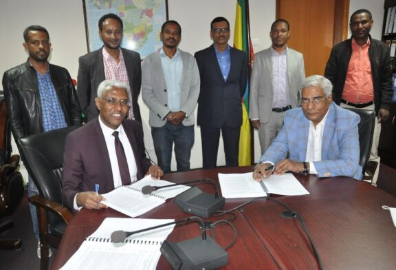 Agreement signed between Ethiopian Textile Industry Development Institute and Texcoms Textile Solution